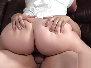 BBW MILF Blackmailed At the expunge of one's tether Weary Visitors Young gentleman