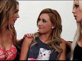 Hot Lesbian Unobtrusive Threesome - Part2 handy LesbianCamTv.com