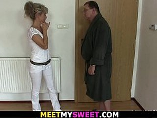 Credentials 3some upon old parents added to blonde comprehensive
