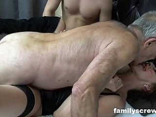 Incongruous Behind the scenes Threesome