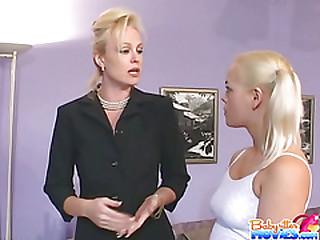 Babysitter Cheryl Gets Writing Dicks attaching 1