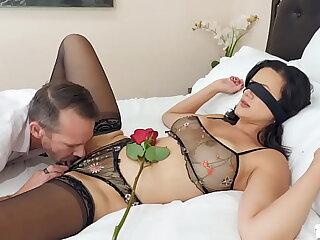 Bestfriends husband enjoying Penny Barbers tight pussy
