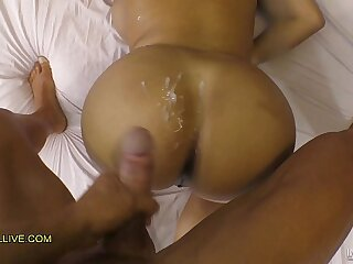 THICK LATINA KESHA ORTEGA SQUIRTS & CUMS on SON WHILE HIS FATHER FILMS THEM!