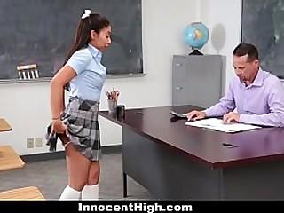 On the up High - Hot Teen Babe (JasmineSummers) Sucked Teacher's Cock