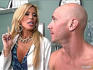 Divorced dilute gives her well hung patient a thorough check-up